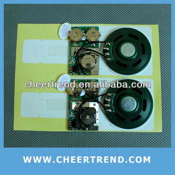 recordable sound chip/recordable sound module