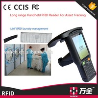 Industrial android portable computer pda with long range 8 m uhf 900mhz rfid reader