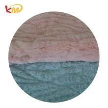 2017 new product fake faux rabbit fur fabric for women vest and blanket