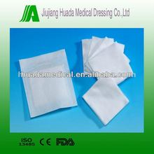 Sterile non woven swabs in peel pouch disposable medical product