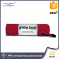 Roll packed 100% Microfiber terry travel golf towel