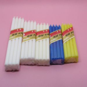 Wholesale white paraffin wax stick 20g candle Hot Sale in Africa