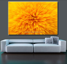 Customize jet printing picture beautiful canvas flower oil painting
