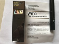new Original FEG hair growth treatment prevent hair black color loss care product