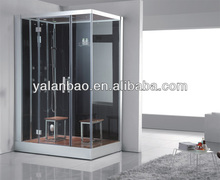 60 x 36 JETTED STEAM SAUNA SHOWER ENCLOSURE FOR 2 PEOPLE