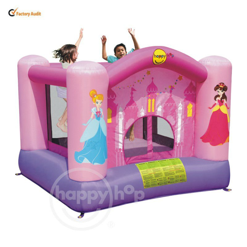 happy hop Inflatable Bouncer for Kids-9001P Princess Carriage Kids Jumping Toy