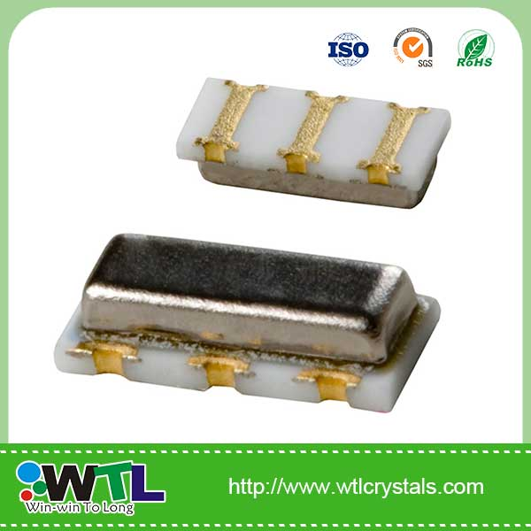 WTL 7.4*3.4*1.8/ZTTCC 5.000MHz Ceramic resonator +/-0.5% 33pF, +/-0.2% -20 'C+80 'C