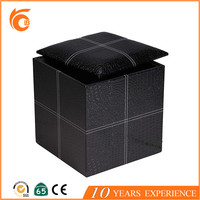 Wholesale Products Leather Home Decor Storage Bench And Ottoman leather chair