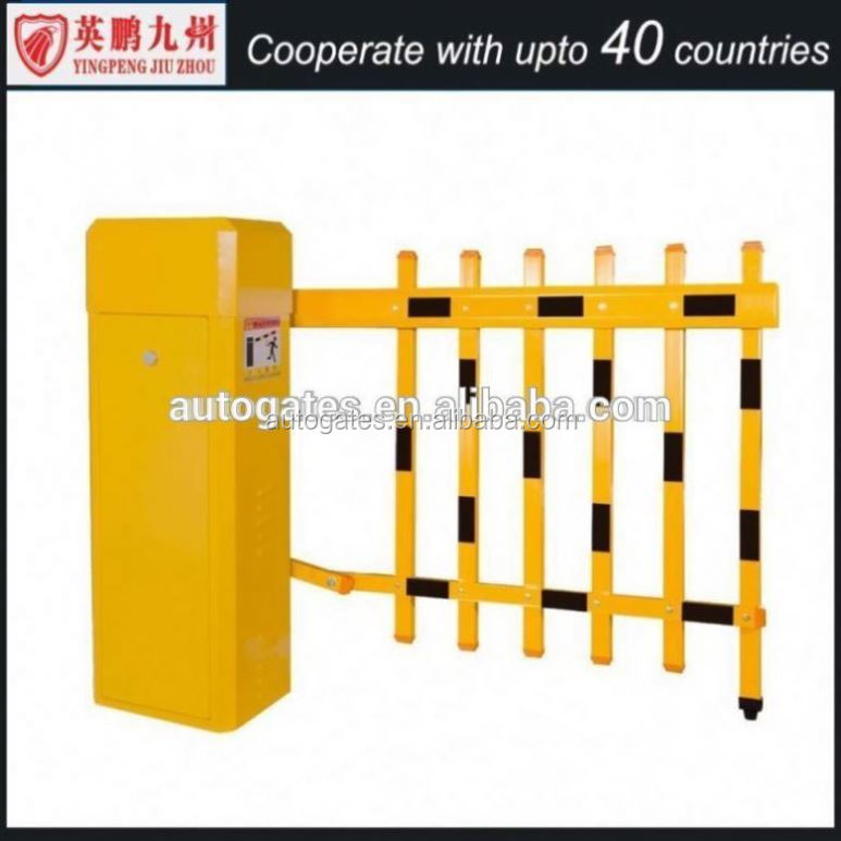 High Speed Auto gate , Electronic Boom Barrier For Intelligent Parking System