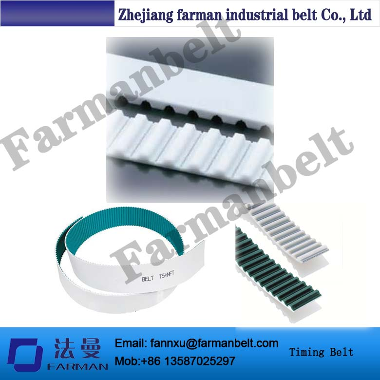 Special Design High Tension Green Cloth On Teeth Steel Cord/kevlar Cord Truly Endless Pu Fabric Conveyor Belt