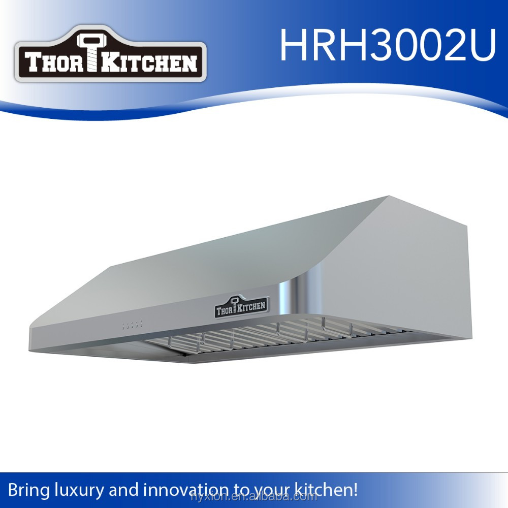 "The newest design range hood with 7""round kitchen exhaust duct"