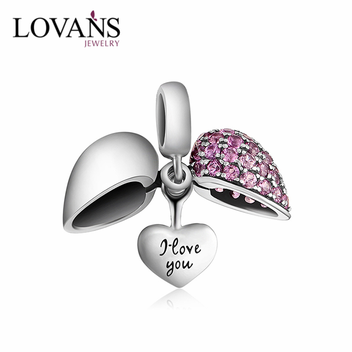 925 Sterling Silver Heart Charms Engravable Jewelry Blanks