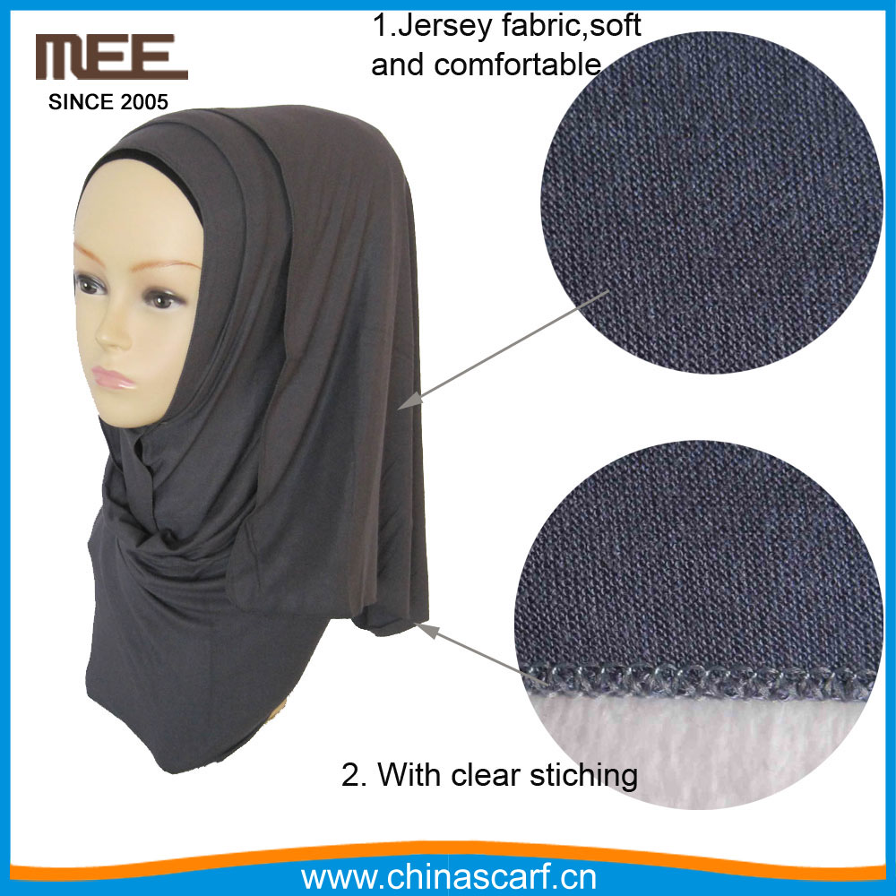 fashional women factory muslim hijab cotton jersey scarf