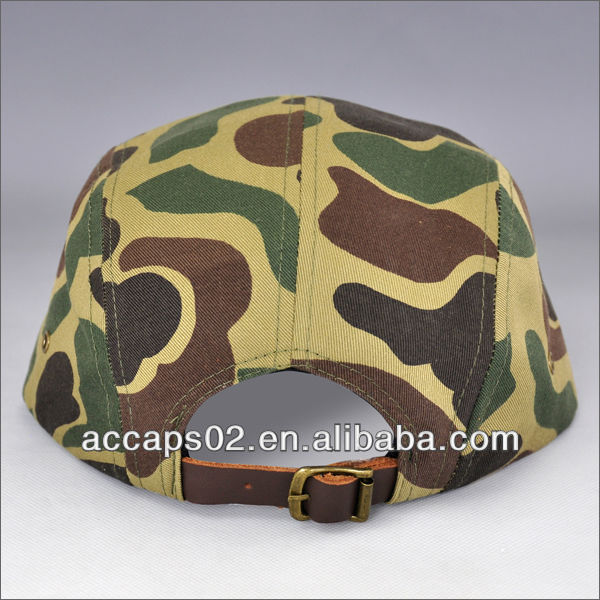 camo flat bill hat for men