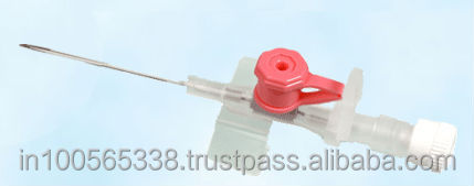 IV CANNULA SIZE 20 PINK COLOR