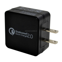 QC2.0 quick bulk usb home charger with Micro port for cell phone