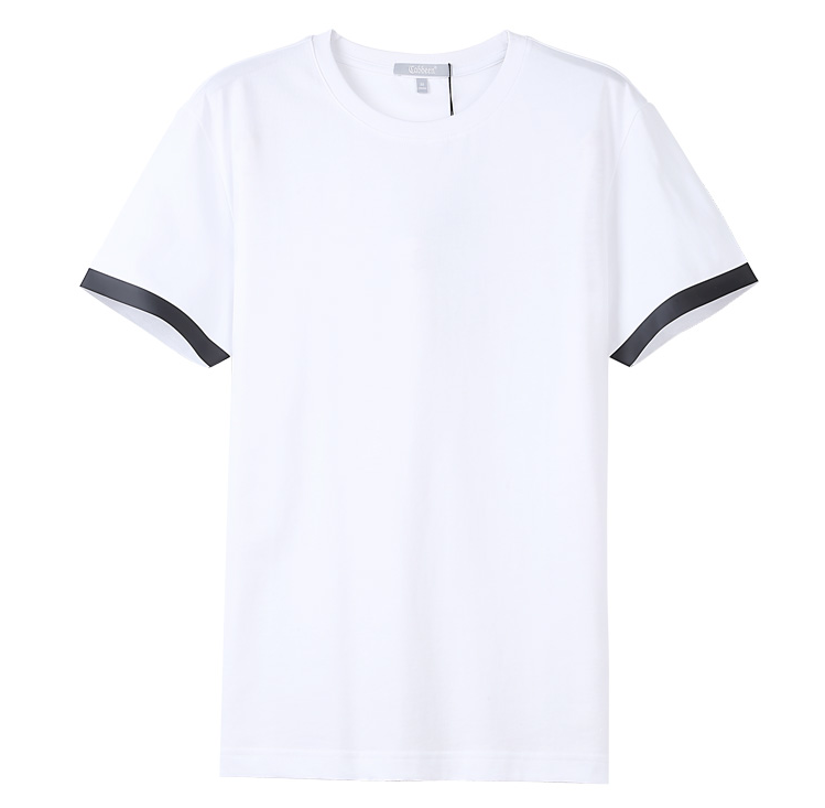 Showlands Bulk Wholesale T-Shirts Men's Essential Summer Wear Two Tone T-Shirt