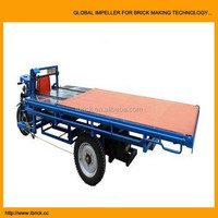 Labor saving clay brick trolley, automatic vehicles carry bricks