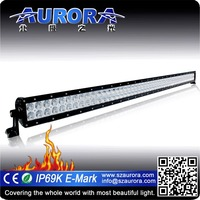 Fast shipping Aurora 50inch led dual row auto offroad light bar