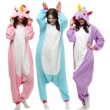 Adult Pegasus / Unicorn Flannel Kigurumi Pajamas(Three Colors)
