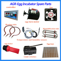 All Incubator Spare Parts for Making Complete Egg Incubator Machine Supplied by Factory