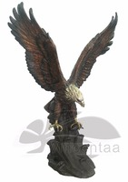 2015 new produced home decoration bronze eagle sculpture