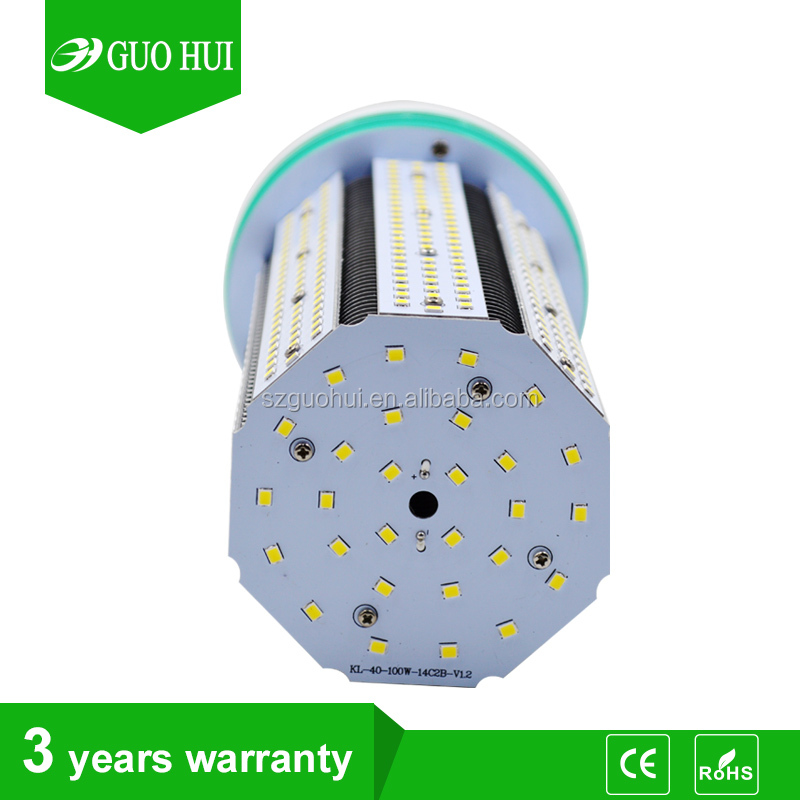 Aluminum fin heatsink e40 led lamp 100w e27 led light bulb 360 degree replacement