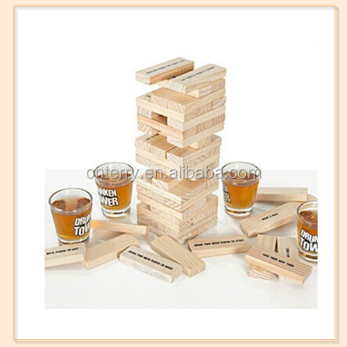 Tipsy Tower Shot Glasses Drinking Game