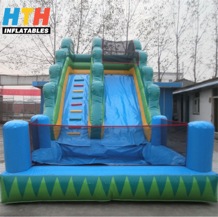 heavy duty inflatable hippo water slides