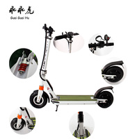 2016 hot 350w/36v folding electric kick scooter with lithium Polymer Batteries CE certificate
