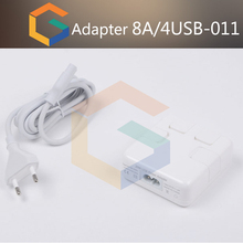 Universal Global Travel 6 USB Ports Wall Charger 4 Power Adapters For Smartphone