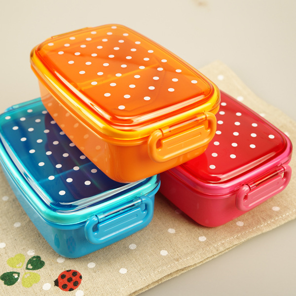 kids Lunch Box Bread Sandwich Keeper Snack Plastic container Reuseable Container