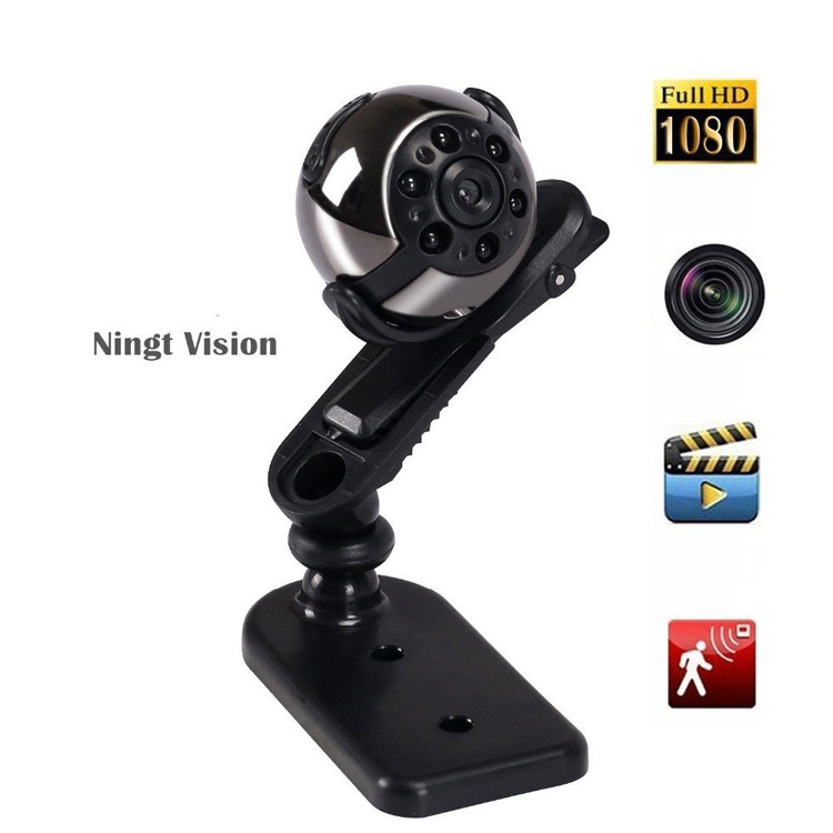 SQ9 Night Vision 360 Degree Rotatory HD Mini Sport DV 1080P Manual Mini Sport Camera Recorder