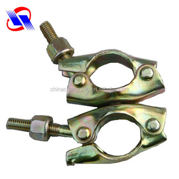 2017 Quality assurance scaffolding pressed clamp swivel coupler