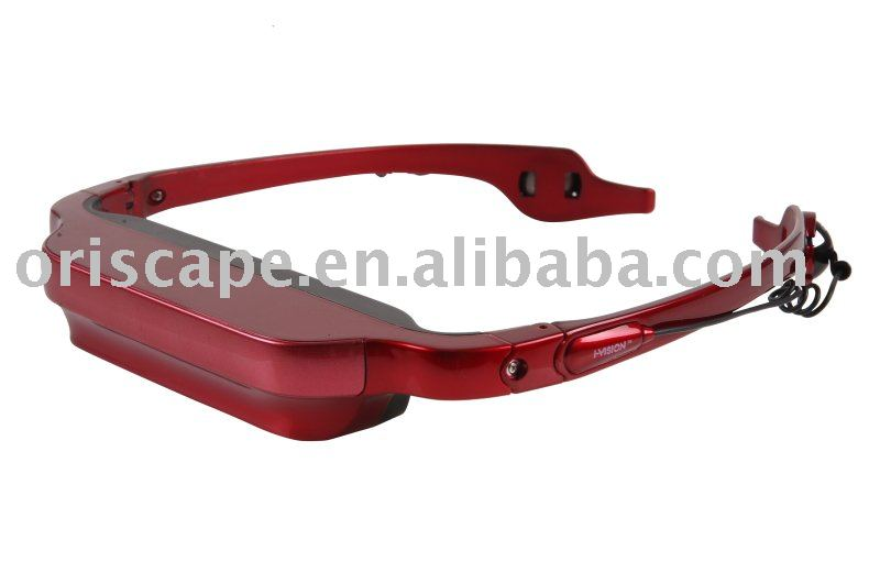 Video glasses/ Personal Cinema Eyewear DVD Player china factory