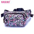 Wholesale custom made waist bag new colourful nylon fanny pack outdoor waist bum bag