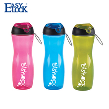 plastic canteen printed water bottle with side handle