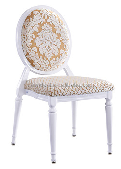 stackable metal round back chair (NB5388)