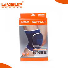 Customized professional china elastic knee support