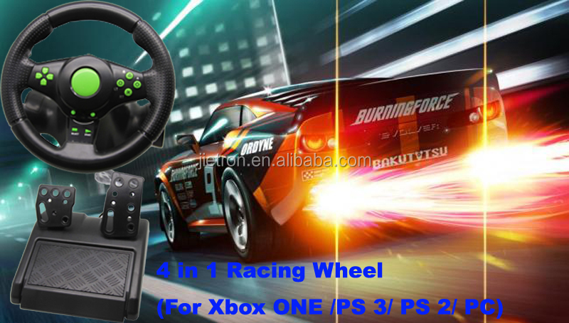Factory Directly Video Games Accessories For XBOX ONE/PS2/PS3/PC Steering Wheel