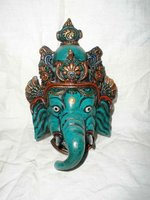 resin ganesh mask