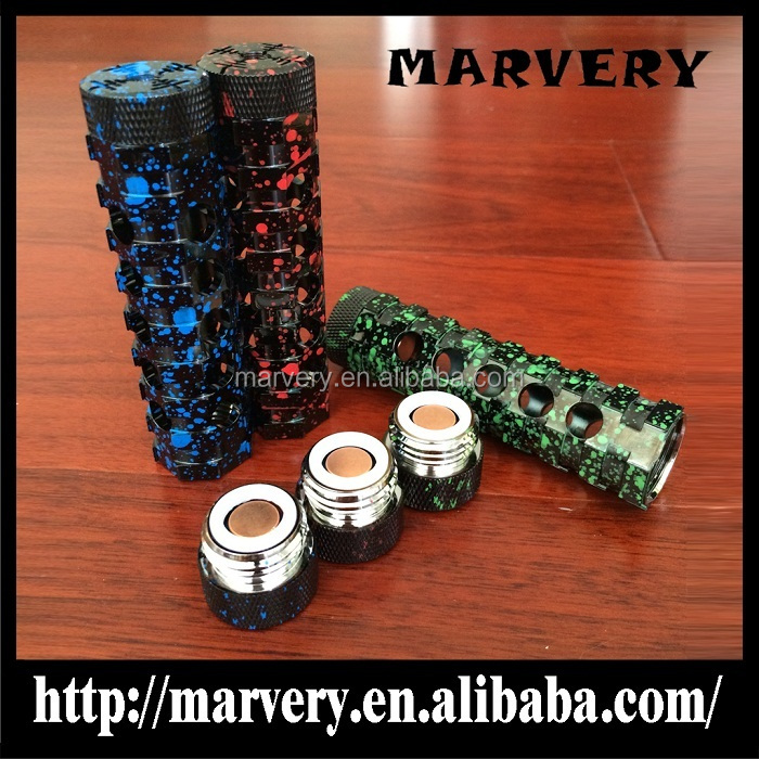 New new new!!!High quality AR mod top e cig mech mods 18650 battery mechanical mod here