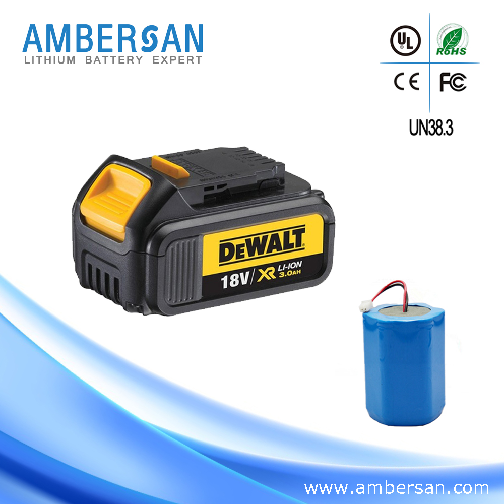 Best price dewalt replacement 18v rechargeable battery li-ion