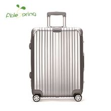 Wholesale Popular colourful travel trolley luggage bag