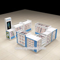 12X10 ft mobile phone accessories kiosk & phone repair kiosk design for USA