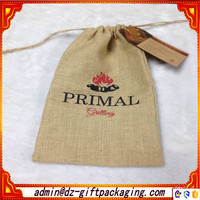 Eco-Friendly Printed Burlap Pouch