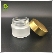 30g round glass jar thick bottom glass cosmetics jar bottle facial cream packaging