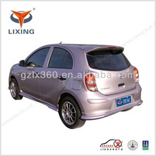 LX-NIS207 MARCH sports car rear wings spoiler with light/screw ABS/FRP