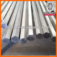 Top quality bright stainless hex bar