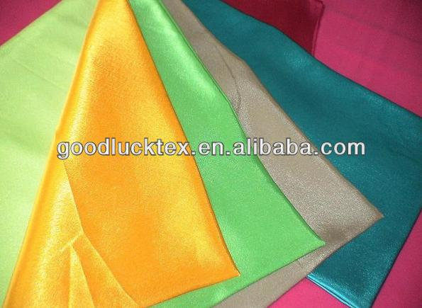 high quality polyester crepe back satin